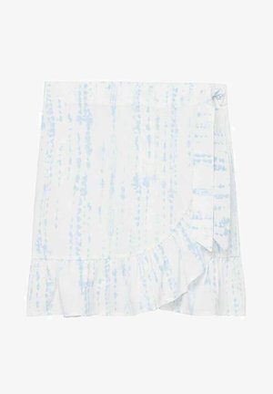 TIEDYES - Wrap skirt - bleu