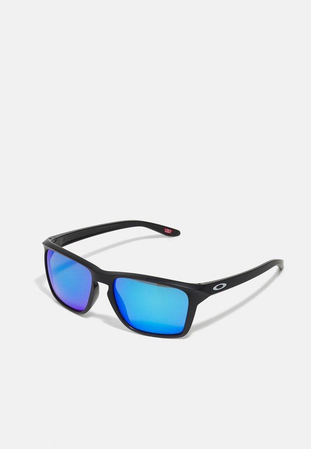 SYLAS UNISEX - Sonnenbrille - matte black w/prizm sapphire polar