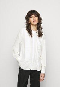 Bruuns Bazaar - CAMILLA MAY  - Blouse - white - 0