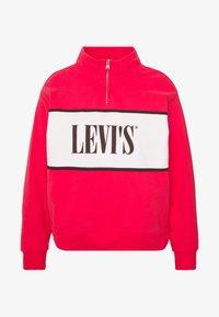 Levi's® Plus - LOGO - Collegepaita - brilliant red - 4