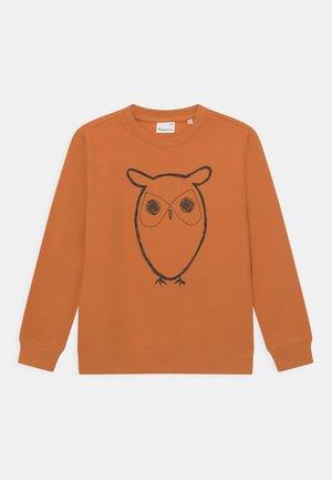 LOTUS OWL VEGAN - Sweatshirt - abricut buff