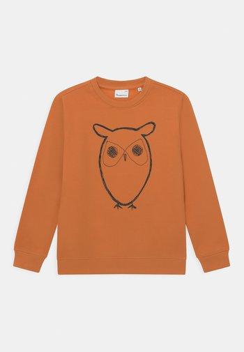 LOTUS OWL VEGAN - Sudadera - abricut buff