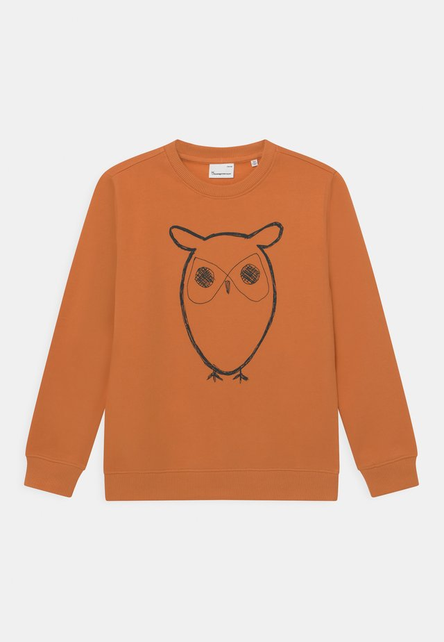 LOTUS OWL - Sweatshirt - abricut buff