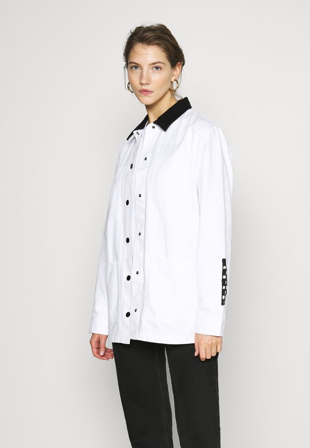 MAKE ME YOUR OWN - Summer jacket - white