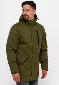 INDICODE JEANS - Parka - army - 0