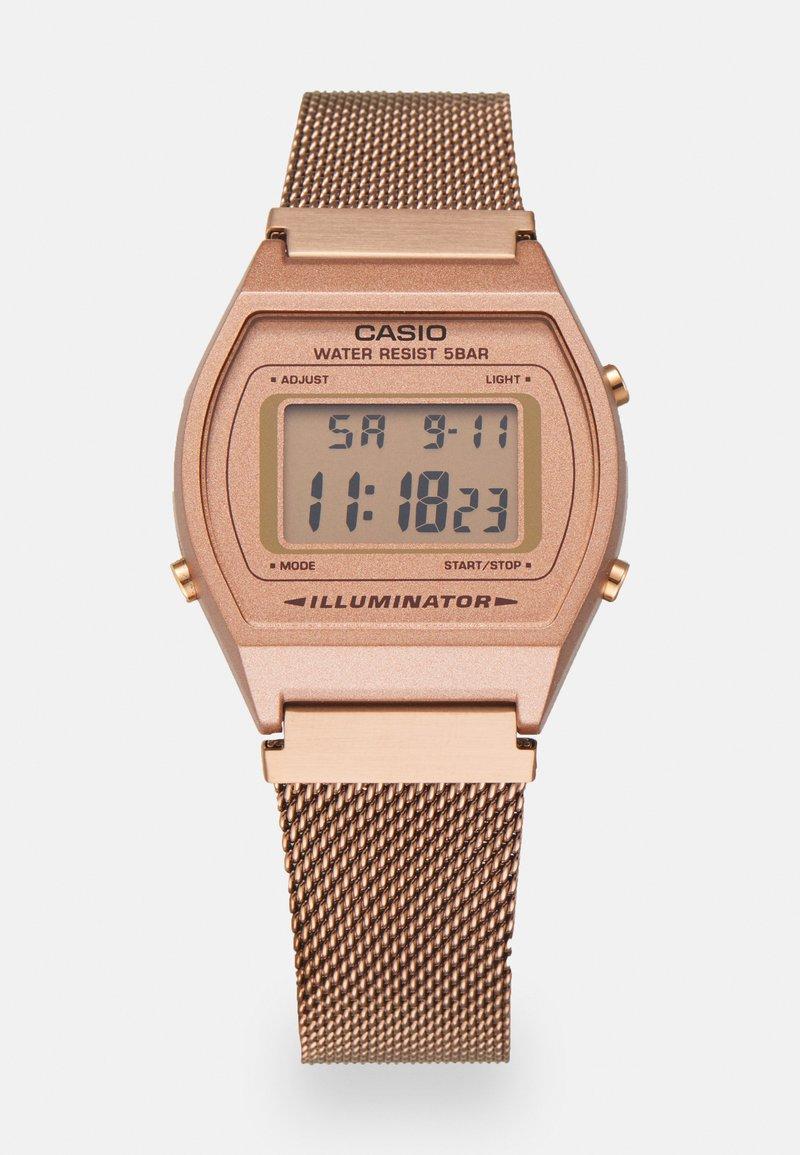 Casio - Digital watch - rose gold-coloured