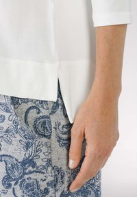mey - HOMEWEAR SHIRT SERIE NIGHT2DAY - Pyjama top - white - 3