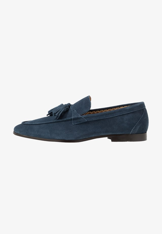 CASUAL TASSLE LOAFER - Smart slip-ons - navy