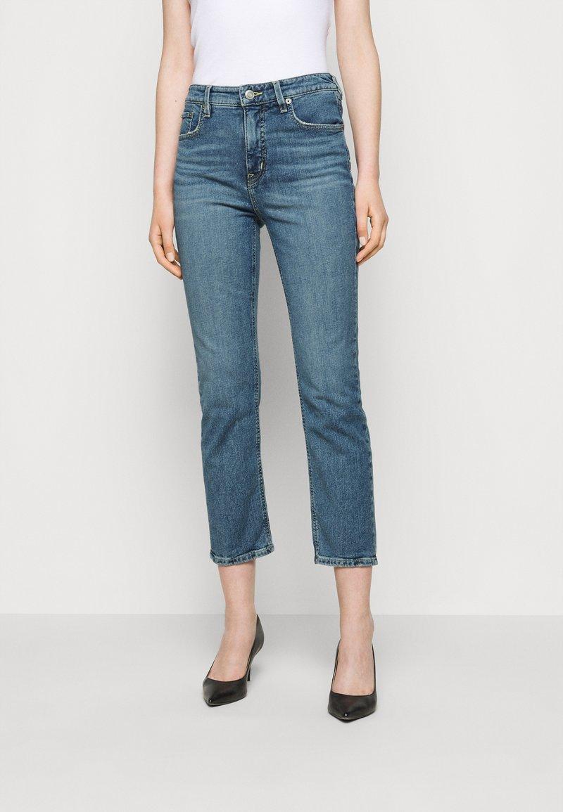 Lauren Ralph Lauren - PANT - Straight leg jeans - legacy wash