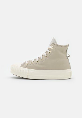 CHUCK TAYLOR ALL STAR LIFT - High-top trainers - string/pale putty/egret