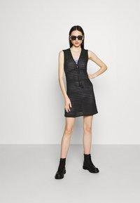 Vila - VISEILA  DRESS FESTIVAL - Jumper dress - black - 1
