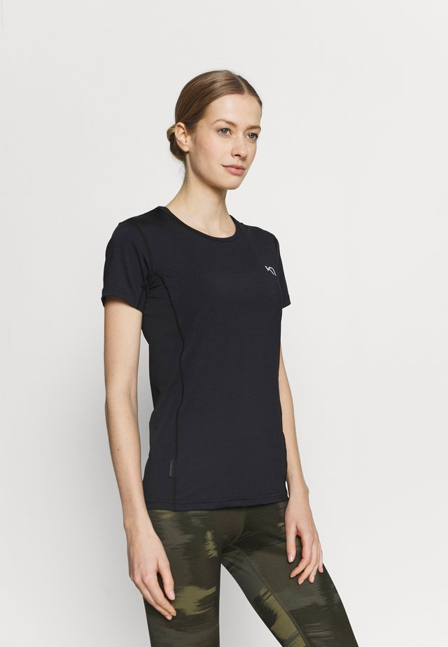 NORA TEE - T-shirt con stampa - black