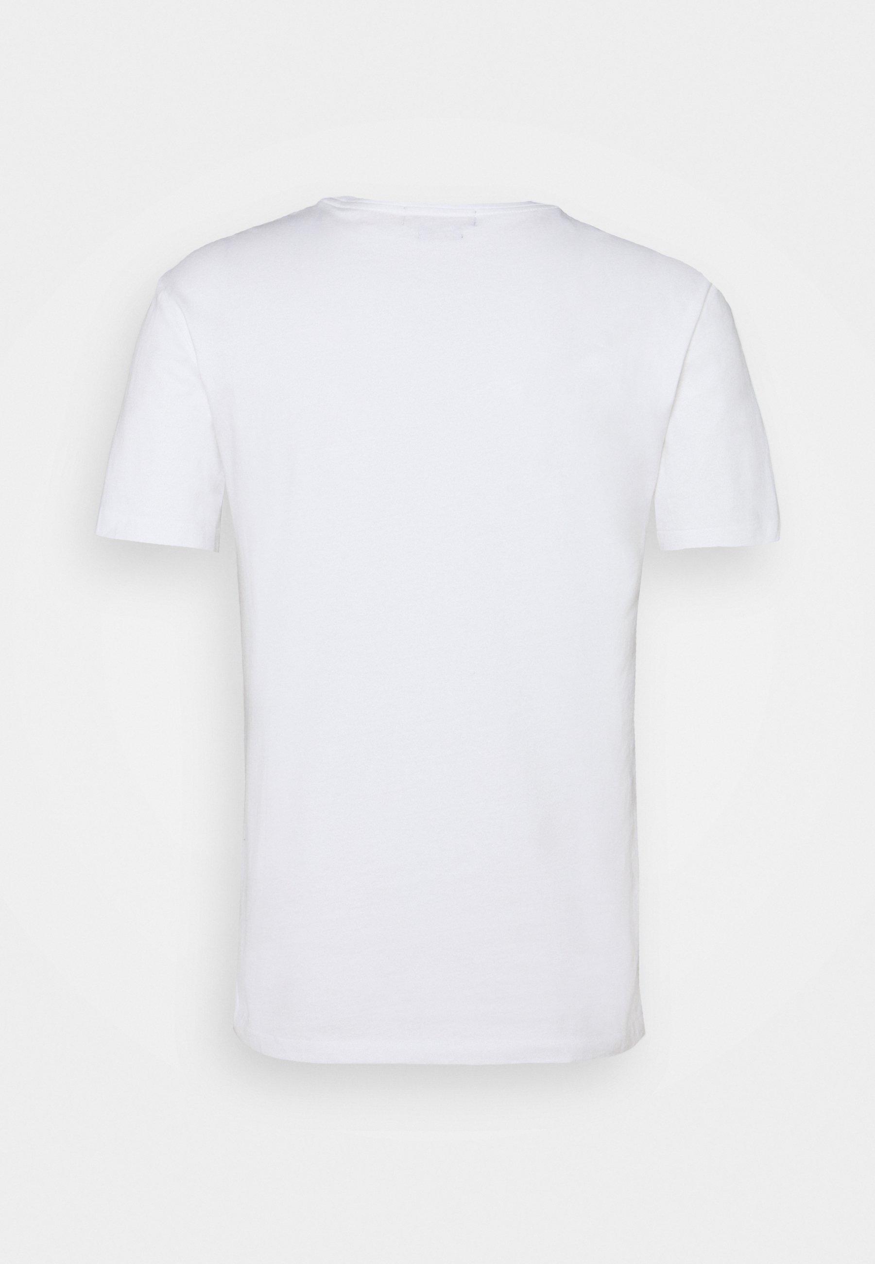 Homme CUSTOM SLIM FIT LOGO JERSEY T-SHIRT - T-shirt imprimé