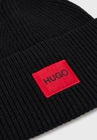 HUGO - XAFF - Pletena kapa - black - 2