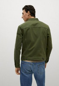 Mango - Denim jacket - khaki - 2