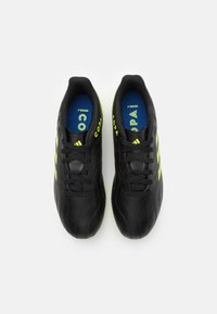 adidas Performance - COPA SENSE.4 FXG UNISEX - Moulded stud football boots - core black/solar yellow - 3