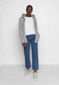 Napapijri - BICCARI - Zip-up hoodie - med grey mel - 1