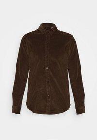 Kronstadt - JOHN OVERSHIRT - Shirt - dusty brown - 0