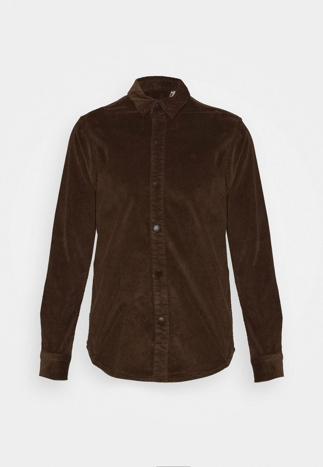 JOHN OVERSHIRT - Chemise - dusty brown