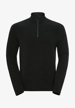 ROY - Fleece jumper - black