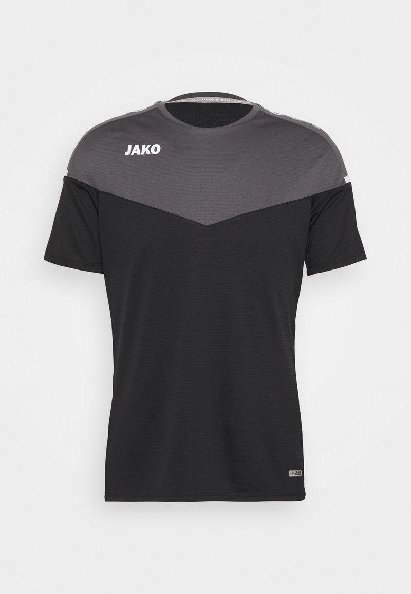 JAKO - CHAMP - T-shirt imprimé - schwarz/anthrazit