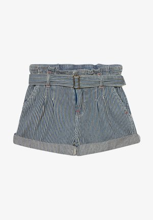 PAPERBAG BOTTOMS - Kraťasy - dark blue denim