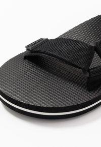 Slydes - NITRO - Sandals - black - 5