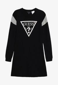 Guess - JUNIOR DRESS - Sukienka dzianinowa - jet black - 2