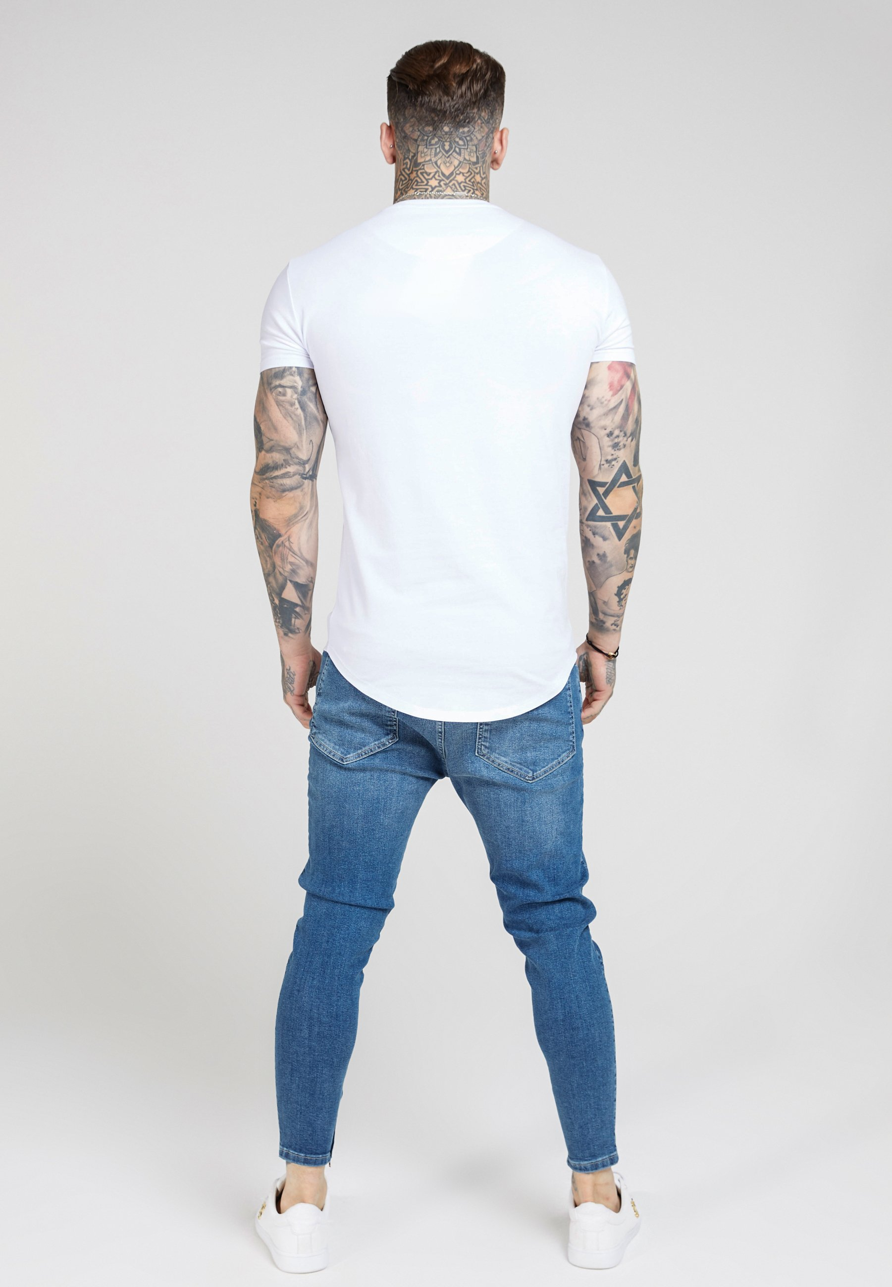 Siksilk T-shirts - White/hvit