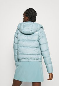 The North Face - HOOD - Down jacket - tourmaline blue - 2