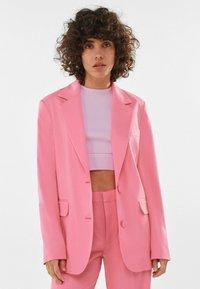 Bershka - Manteau court - pink - 0