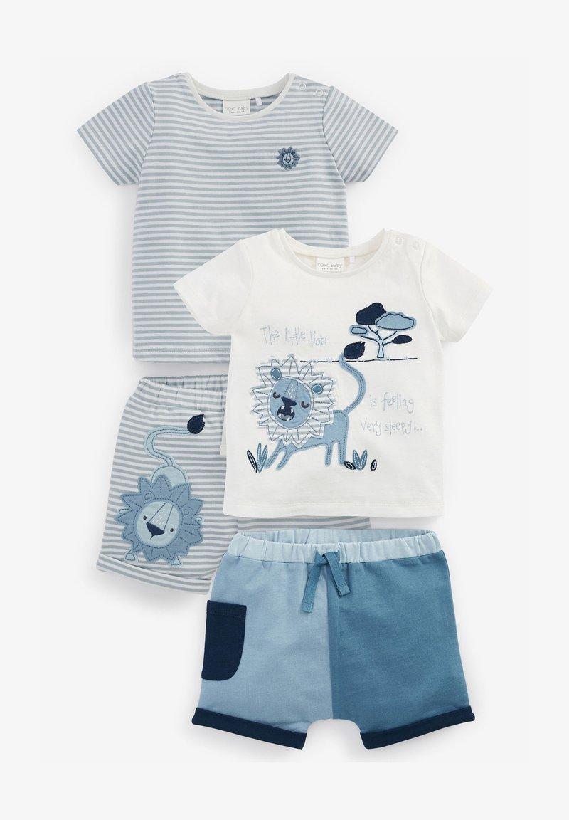 Next - 4 PIECE SET - Shorts - multi-coloured