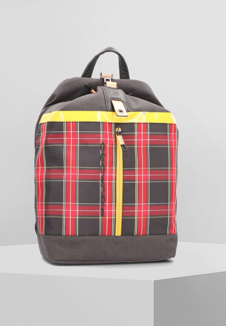 Piquadro - BLADE BUSINESS  - Tagesrucksack - red/yellow