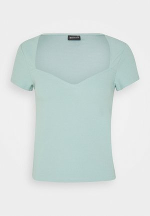 HEARTSHAPE - Print T-shirt - blue surf