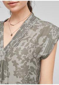 s.Oliver - Day dress - khaki aop - 3