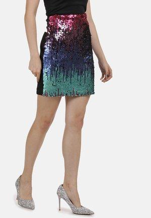 Mini skirt - pink blau