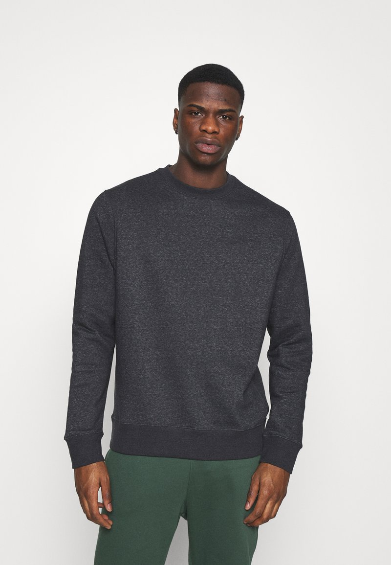 Nike Sportswear - CREW - Sweatshirt - black/dark smoke grey