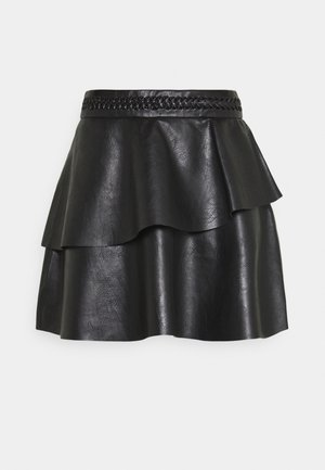MARLIN SKIRT - Mini skirt - dark brown