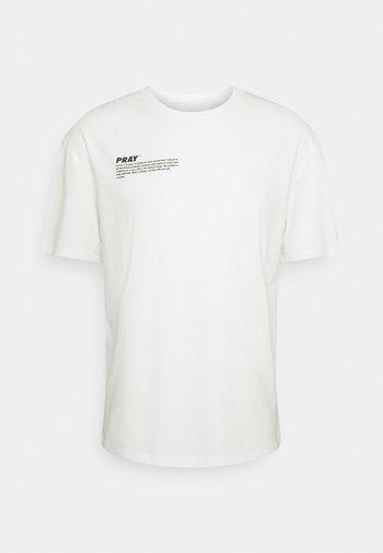 HOPE UNISEX - Print T-shirt - off white