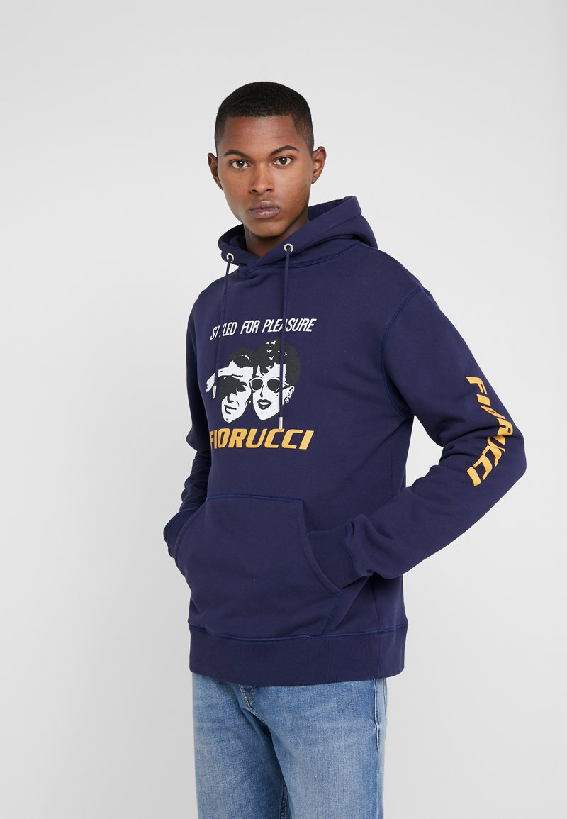 Fiorucci - STYLED FOR PLEASURE HOODIE  - Sweat à capuche - navy