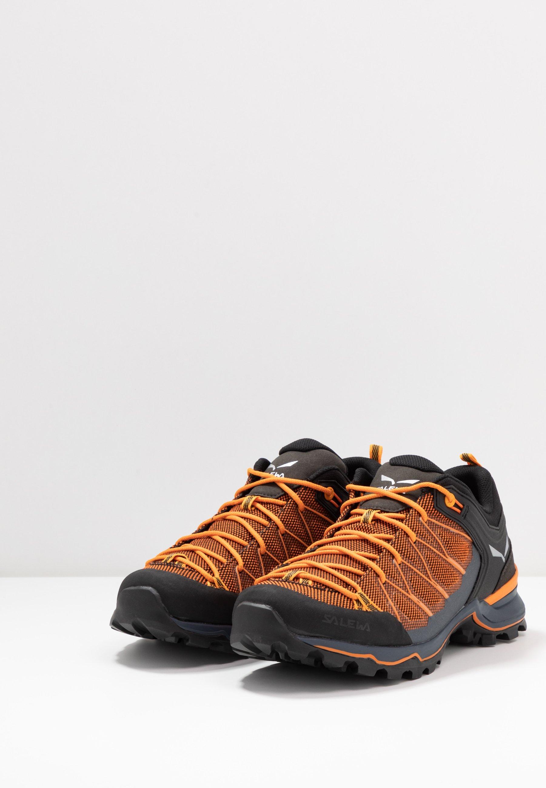 Salewa MTN TRAINER LITE - Hikingschuh - ombre blue/carrot/orange - Herrenschuhe BAXVh