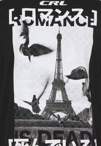 CORELLA - PARIS UNISEX - Printtipaita - black - 2