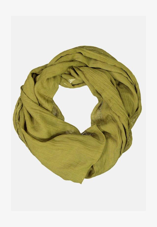 Sjaal - gelbgrün