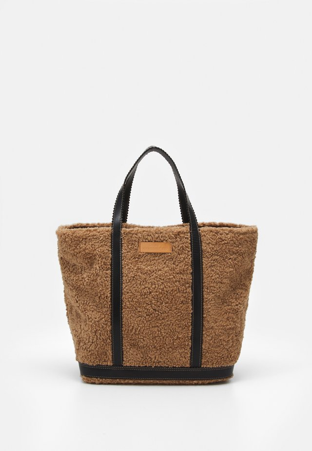 CABAS MOYEN - Shopping bag - marron glace