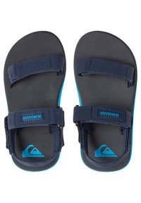 Quiksilver - MONKEY CAGED - Walking sandals - blue/grey/blue - 1