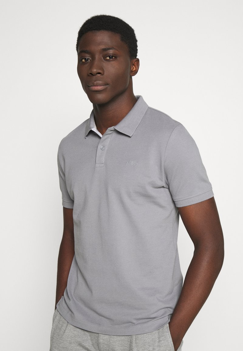 s.Oliver - Polo shirt - ice grey