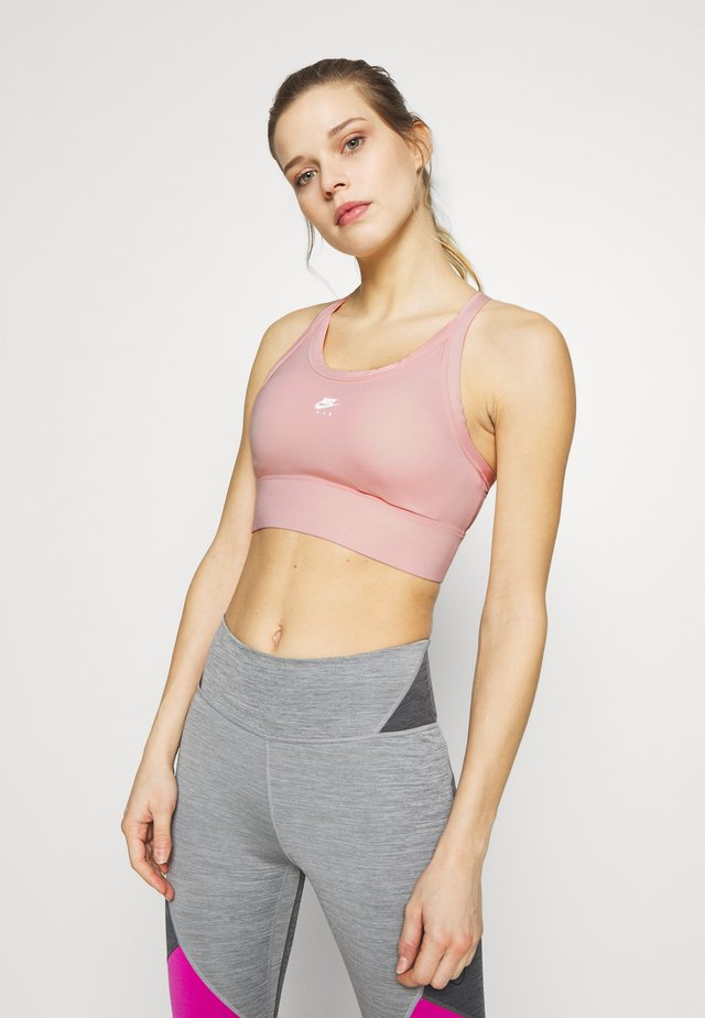 Sports bra - washed coral