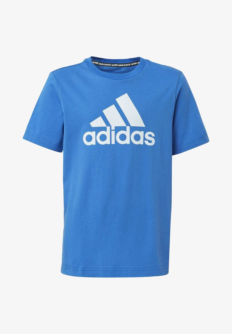 adidas Performance - MUST HAVES  BADGE OF SPORT T-SHIRT - T-shirt print - blue