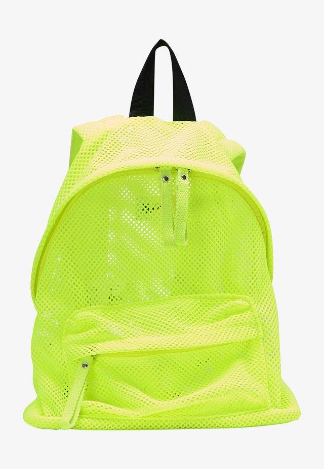 Batoh - neon grün