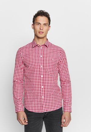 Shirt - red/white